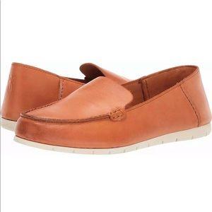 Frye Cognac Brown Slip On Loafer Sz 8.5